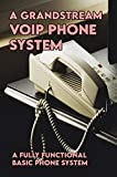 A Grandstream VOIP Phone System: A Fully Functional Basic Phone System: Voip For Dummies (English Edition)