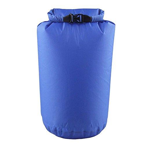 TOOGOO Bolsa Seca Impermeable para Acampar Flotante Canotaje Kayak Aguas bravas Canoa Azul - Azul, 75L