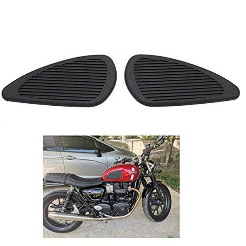 Motorrad tankaufkleber pad Retro Universal Motorräder Tank Gummi Schutz Aufkleber