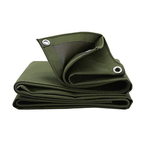 Bâche Toile antipluie résistante extérieure de Verte, Couverture imperméable galvanisée de boutonnière résistante à l'usure (Size : 4M×5M)