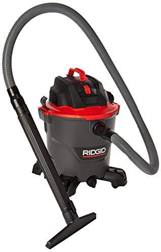 Ridgid RT1200M Aspiradora de sólidos y líquidos 5 HP, 12 Galones, negro con rojo