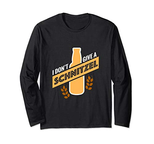 Bier Schnitzel Outfit I Party Saufen Alkohol Fun Geschenk Langarmshirt