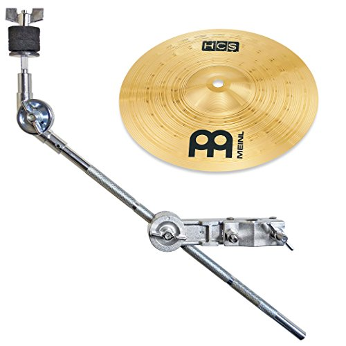 Meinl HCS 10\'\' Splash Becken + keepdrum HKC Galgen-Beckenarm