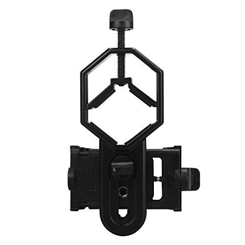 Cellphone Adapter Mount, Spotting Scope Cellphone Adapter Mount for Rifle Scope, Camera, Digiscoping Binocular, Telescope, Microscope, Monocular
