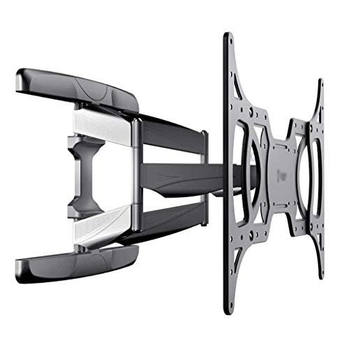 Soporte para TV, soporte para TV multifuncional de seis brazos de 36-70 pulgadas, soporte de montaje en pared giratorio telescópico universal, soporte para TV LCD, ángulo de rotación izquierda y dere