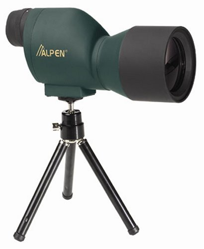 Alpen Optics 20x50 Compact Waterproof Fog Proof Spotting Scope