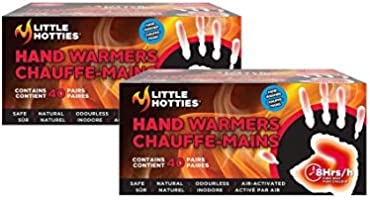 Little Hotties Hand Warmers Air-Activated 8 Hours Durability