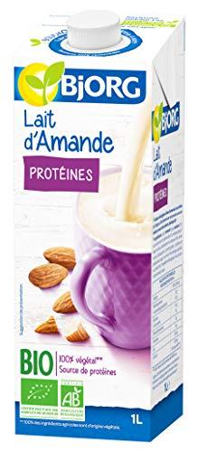 Bjorg Lait d'Amande aux Protéines Bio 1 L - Lot de 6