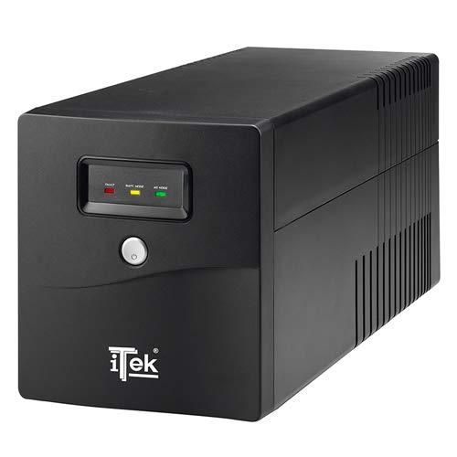 Itek ITUWP1K Gruppo di Continuità UPS, Nero