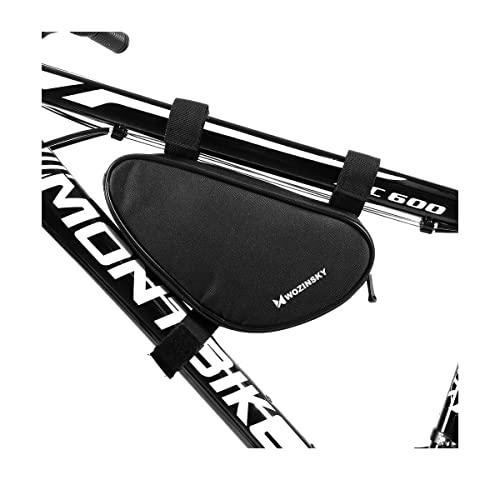 WOZINSKY Fahrradtasche Rahmentasche Wasserdicht Tasche für Fahrrad, Mountainbike, ebike, MTB, Rennrad Bike Bag Fahrradhandytasche Fahrradtasche Rahmen 1,5