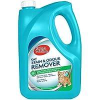 Simple Solution removedor de Manchas y olores de Gato, 4 L