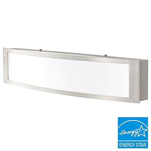 Home Decorators Collection IQP1381L-3 180w LED Bath Light Brushed Nickel