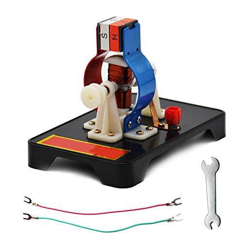 ARTISAN-SH Modelo de Motor DC DIY Juguetes Aprendizaje Ciencias Físicas, Se Puede Utilizar Para la Educación Escolar y ComoJuguetes Educativos ciencias físicas