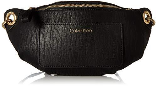 Calvin Klein Sonoma Bubble Lamb Novelty Key Item Fanny Pack Belt Bag, Black