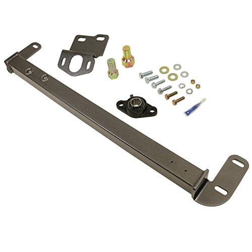 BD Diesel 1032003 Steering Stabilizer Bar Incl. Steering Box Support/Sector Shaft Bolt/Bearing Assy/Hardware/Thread Lock Steering Stabilizer Bar