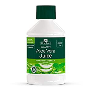 Aloe Pura Juice Jugo Aloe Vera 500ml. Limpieza EVICRO, Negro