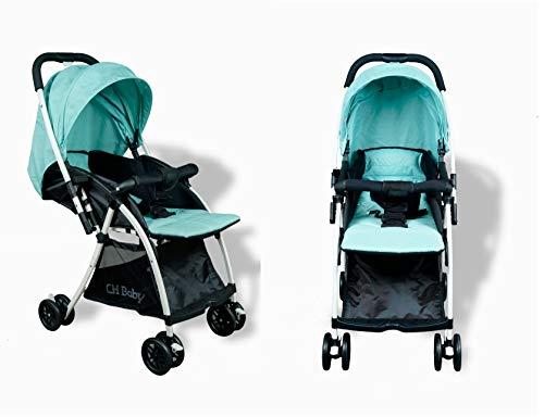 STAR WORK -Baby Heavy Stroller Folding Stroller Can Sit Lying Newborn Pram Kids Stroller Travel System (Stroller -2)