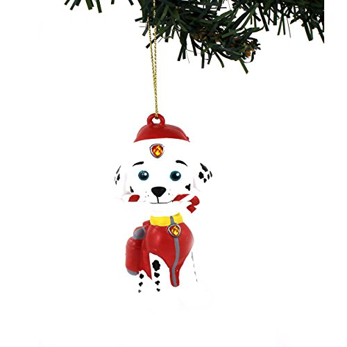 Nickelodeon Paw Patrol Kurt Adler Blow Mold Ornaments Gift Boxed (Marshall Candy Cane)
