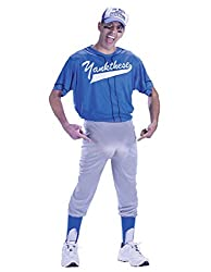Baseball Nut Adult Plus Costume