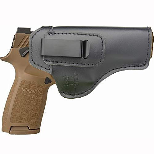 IWB Holster Leather Fits: Sig sauer P320 Full Size - Inside Waistband Concealed Carry Pistols Holster -Right Hand Draw