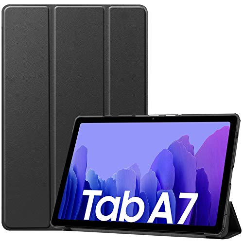 ProCase Galaxy Tab A7 10.4 Case 2020 T500 T505 T507, Slim Light Cover Trifold Stand Hard Shell Folio Smart Case for 10.4 Inch Galaxy Tab A7 2020 Tablet SM-T500 SM-T505 SM-T507 -Black
