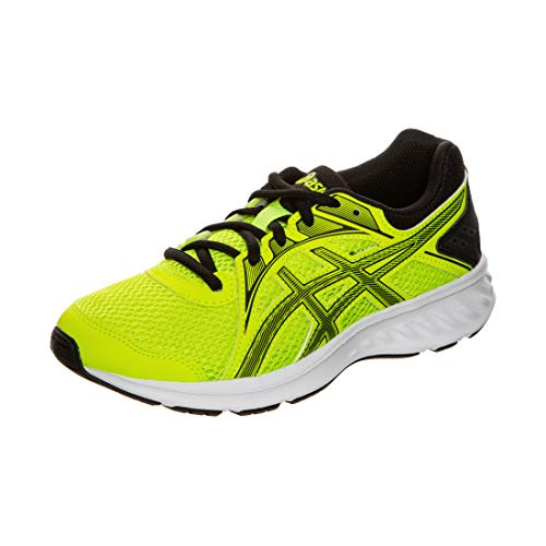 ASICS JOLT 2 GS, Zapatillas Deportivas, Safety Yellow/Black, 36 EU
