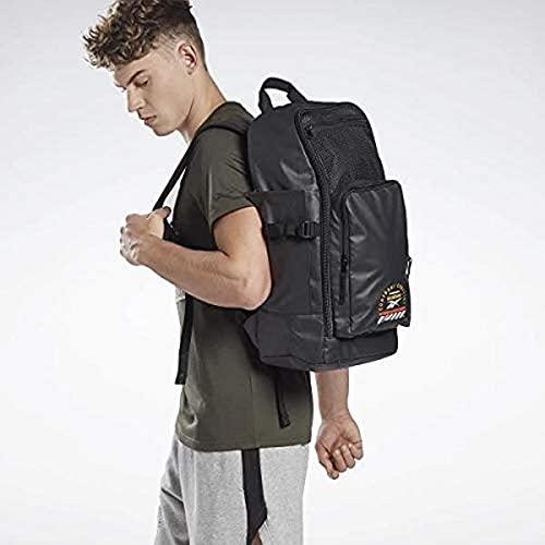 Reebok Combat Backpack Mochila, Unisex Adulto, Negro, Talla Única