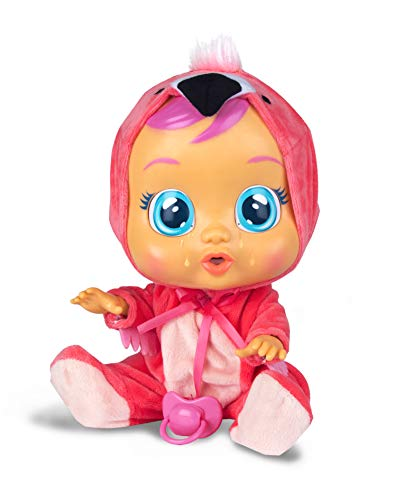 Cry Babies Fancy The Flamingo Doll, Pink