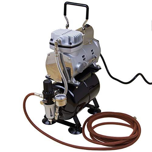 Unbekannt Kompressor Airbrush Sparmax TC-610H-n mit Tank Druckluft Kompressoren