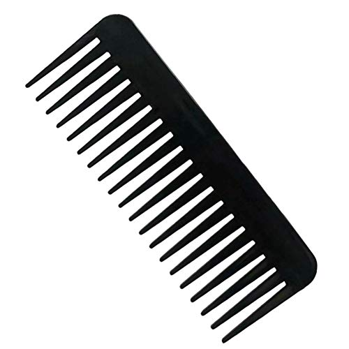 NuAngela Wide Tooth Hair Comb No Static, Detangling Styling Comb For...