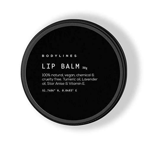 Bodylines Intense Lip Repair 100% Natural Organic Vegan Lip Balm, Avocado...