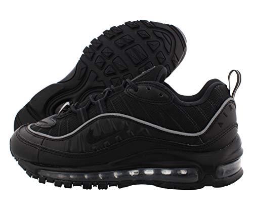 Nike W Air MAX 98, Zapatillas de Correr Mujer, Negro (Black/Black/Off Noir 004), 38 EU