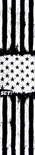 SCT USA Flag Scooter Grip Tape (White and Black) …