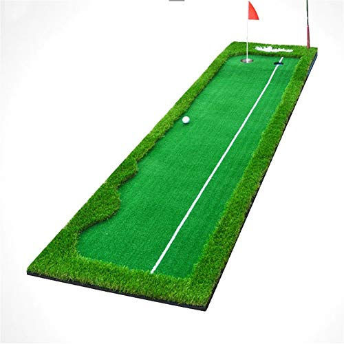 Check Out This ChenCheng Indoor Golf Putter Hitting pad Simulation Four-Color Grass, with Hole, with...