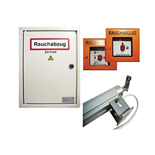 Preisvergleich Produktbild RWA-Set / RWA-Anlage für Lichtkuppel / Treppenhaus / Rauchabzug