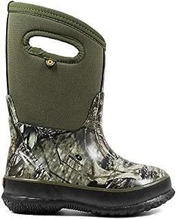Kids Footwear Bundle: Bogs Kids Classic Mossy Oak Boot & Wiping Towel