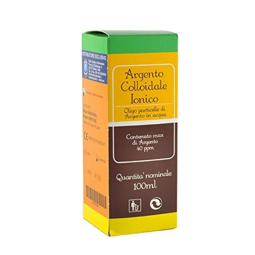SEB - Argento Colloidale 40ppm 100 ml - Puro, Sicuro, Certificato
