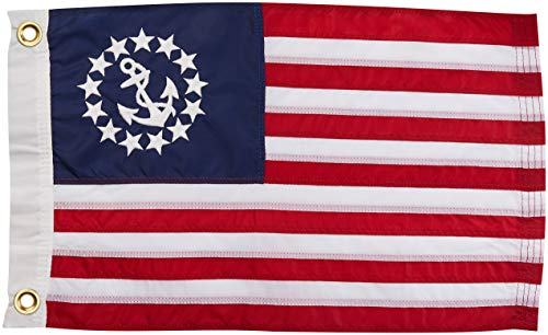 Taylor Made Products 8118 US Yacht Ensign Sewn Boat Flag 12 inch x 18 inch