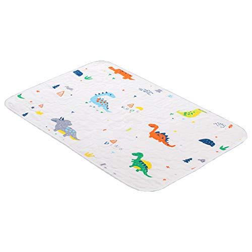 Cambiador para bebés portátil a prueba de agua reutilizable colchón Estación cambiante del pañal recién nacido pañal Pad