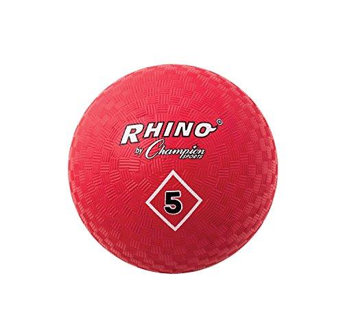 Champion Sports Spielplatzball, 12,7 cm, Rot