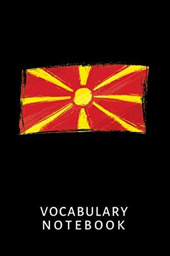 Learn Macedonian Language: Vocabulary Notebook Macedonia Flag