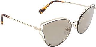نظارة شمسية مرآة عدسات ذهبية بنية من فالنتينو VA2015