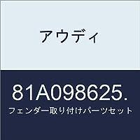 アウディ フェンダー取り付けパーツセット 81A098625.