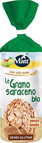 Matt - Gallette Grano Saraceno Bio - Prodotto Vegetale, Senza Lievito e Senza Glutine - 120 gr