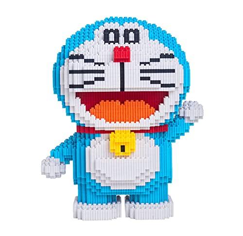 Block Toy - Juego de minibloques de Doraemon para niños mayores de 6 años, color azul