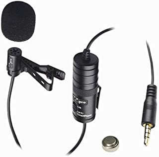 Sanyo VPC-HD2000 Camcorder External Microphone Vidpro XM-L Wired Lavalier microphone Electret Condenser 20 Audio Cable Transducer type