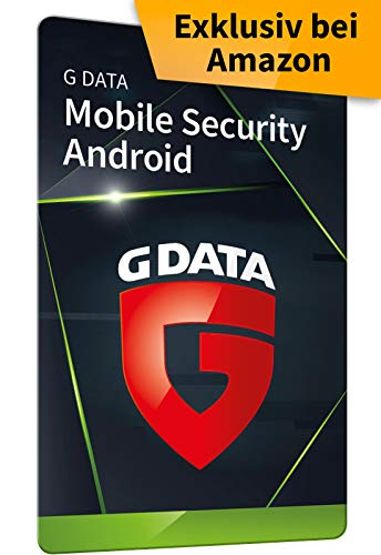 G DATA Mobile Security Android 2020, 1 Gerät - 1 Jahr, Code in frustfreier Verpackung, Schutz für Tablet / Smartphone, Made in Germany