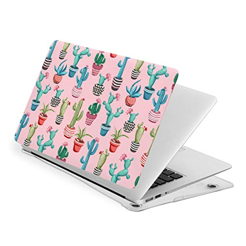 Cacti Flower MacBook New Air 13 inch Case (A1932 & A2179) Laptop Cover Hard Shell Protective Case