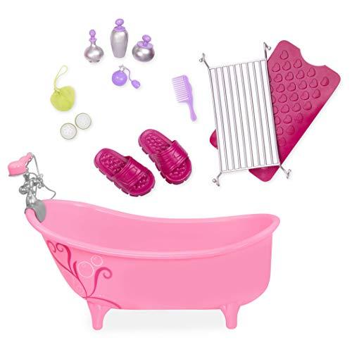 Our Generation 44342 - badkuipset set, roze