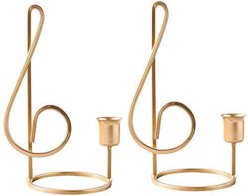 Soporte de Vela Decorativo de Mesa de la Pieza Central, candelabros de una Cabeza cónica de un Solo Cabezal Adornos de la luz de la Vela para la Cena ...